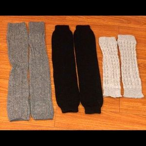 Other - Bundle of 3 pair of Leg Warmers
